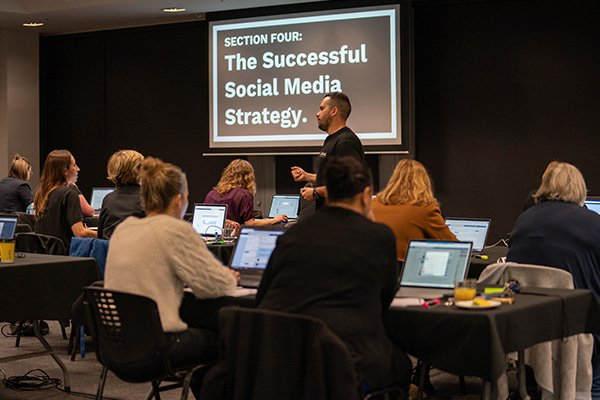 Collab Digital - social media training workshop