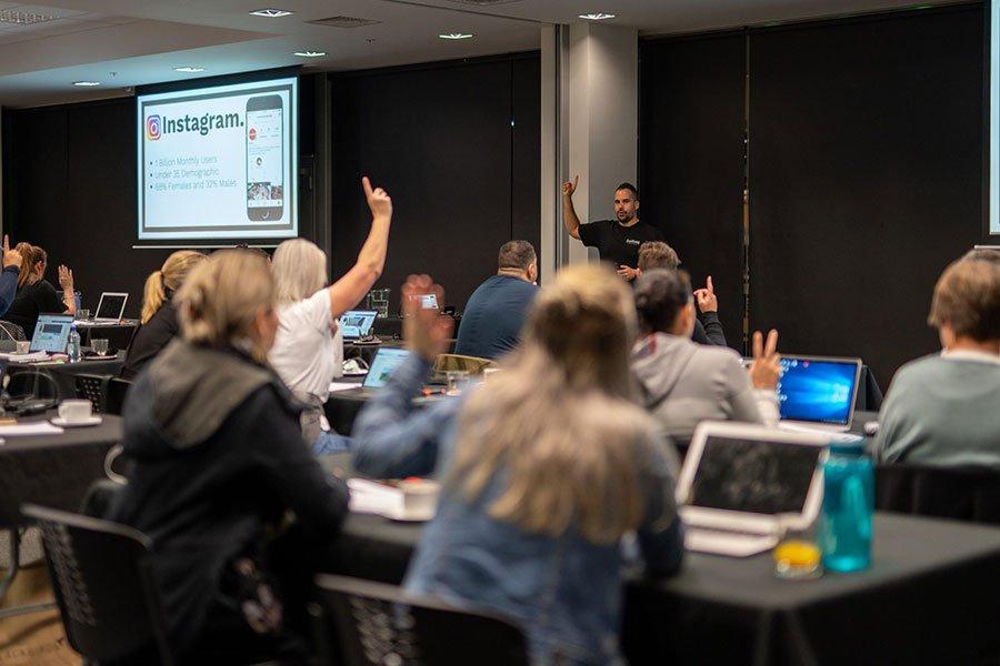 Collab Digital NZ Advanced Social Media Workshop