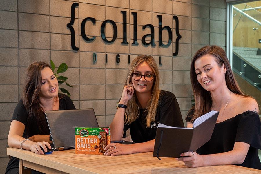Social Media Agency - Collab Digital team at work